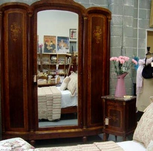 Antique Marquetry Armoire