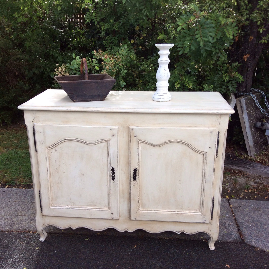 Painted Antique Louis XIV Style Buffet