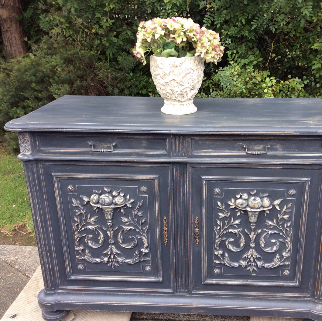 Antique Carved French Buffet