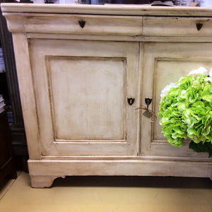 Large Antique Painted Buffet