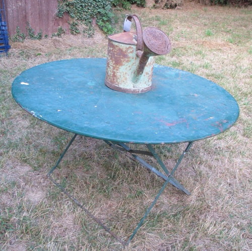 Vintage Green Outside Table