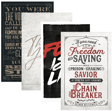 Lyric Art Print Bundle