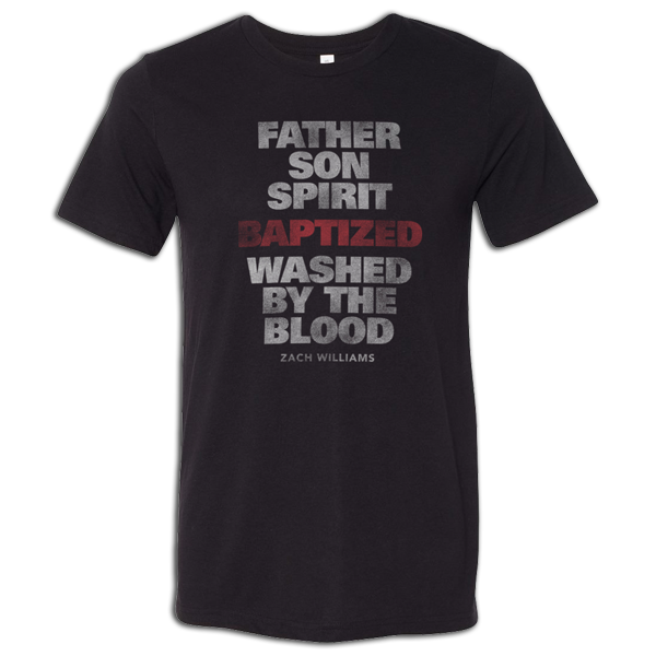 Black Baptized T-Shirt