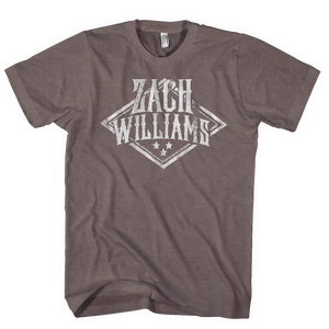 Zach Williams Logo Brown Tee