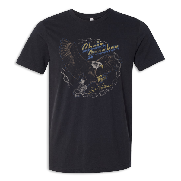 Chain Breaker Eagle With Chain Circle Tee