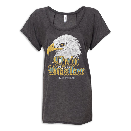Ladies Chain Breaker Eagle Tee