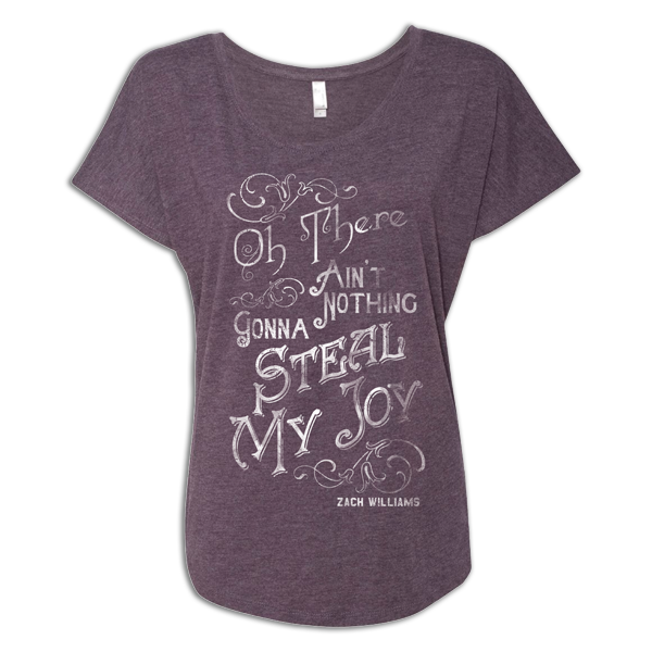There Ain't Nothing Ladies Purple Tee