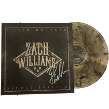 Load image into Gallery viewer, Chain Breaker Deluxe Vinyl (2LP Clear with Black and Gold)