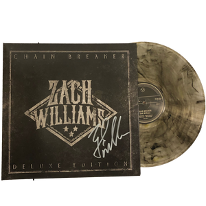 Chain Breaker Deluxe Vinyl (2LP Clear with Black and Gold)