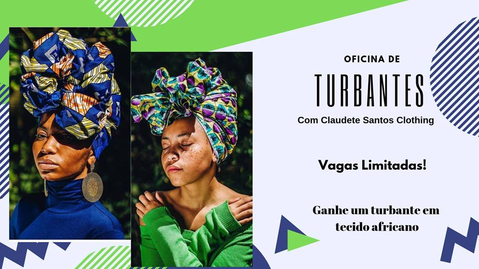 Workshop de Turbante com Claudete Santos
