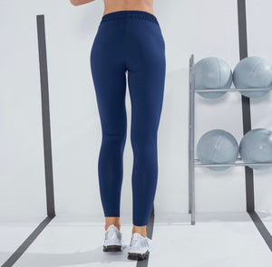 Legging basic blue