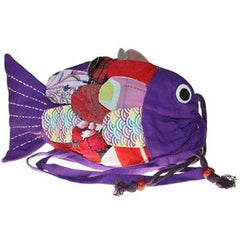 Recycled Handmade Fish Bags