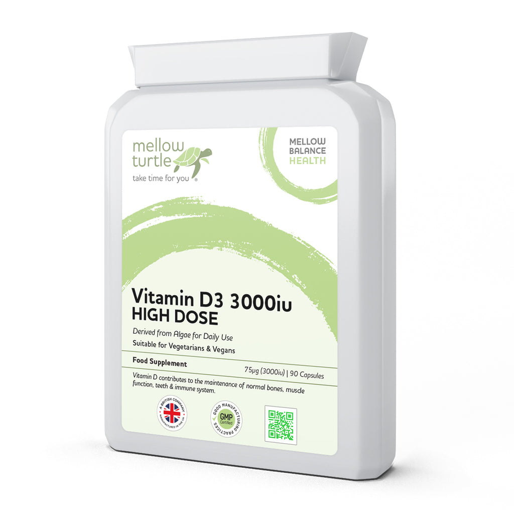 Vitamin D3 3000iu HIGH DOSE 90 Capsules