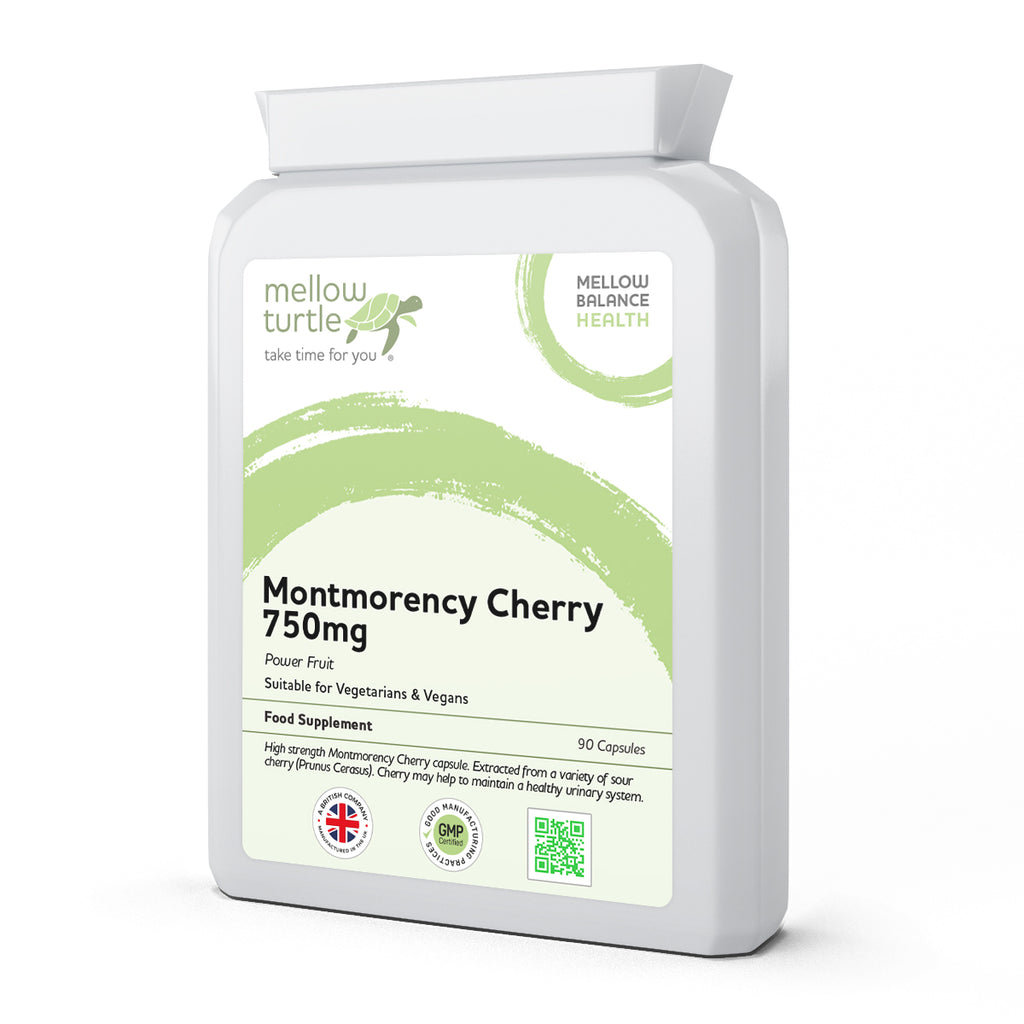 Montmorency Cherry 750mg 90 Capsules