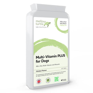 Multi-Vitamin PLUS for Dogs 120 Chicken Flavoured Tablets