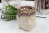 Buddha Oil Burner - Ivory & Mint
