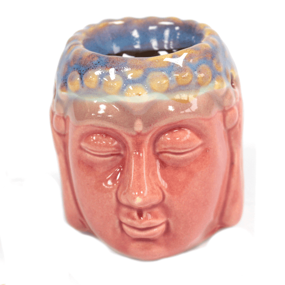 Buddha Oil Burner - Rose & Teal