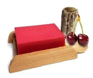Cherry Shea Butter Handmade Soap Bar - Set of 10