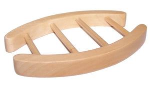Hemu Wood Soap Dishes - Oval