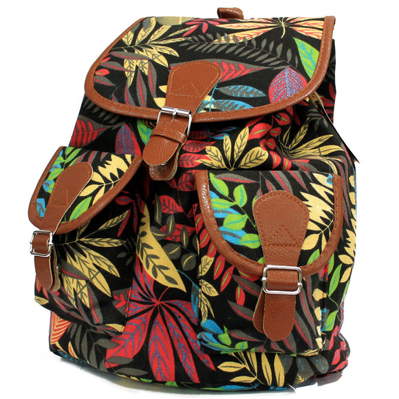 Jungle Bag - Big Backpack - Black/Orange