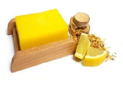 Lemon & Calendula Shea Butter Handmade Soap Bar - Set of 10