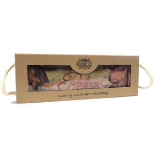 Luxury Lavender Wheat Bag in Gift Box - Sleeping RELAX