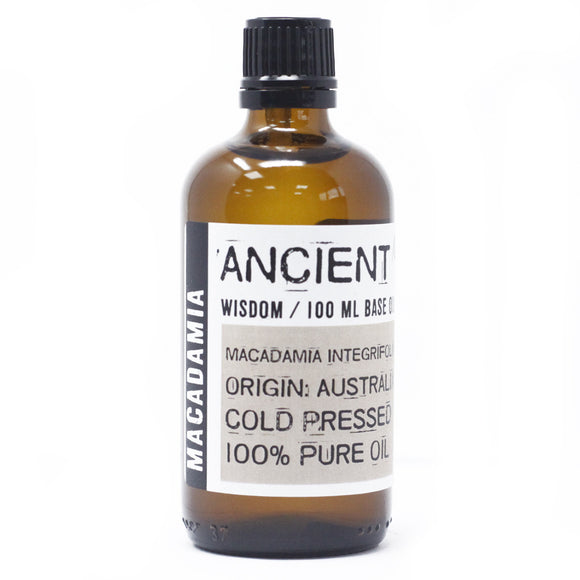 Macadamia 100ml Base Oil
