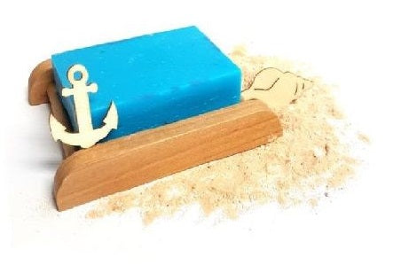 Ocean Waves Shea Butter Handmade Soap Bar - Set of 10
