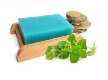 Peppermint Essential Oil Handmade Soap Bar - Set of 10