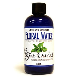 Peppermint Flower Water