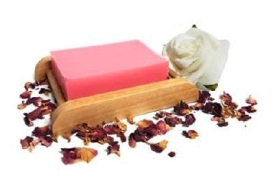 Rose Geranium Essential Oil Handmade Soap Bar - Set of 10