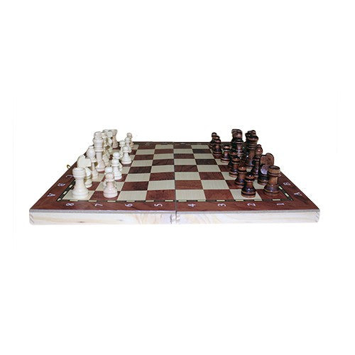 School Chess & Backgammon - 24cm