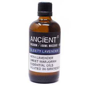 Sleepy Lavender 100ml Massage Oil
