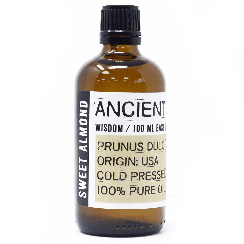 Sweet Almond 100ml Pure Base Oil