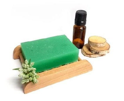 Tea Tree Essential Oil Immune Stimulant Soap Bar - Set of 10