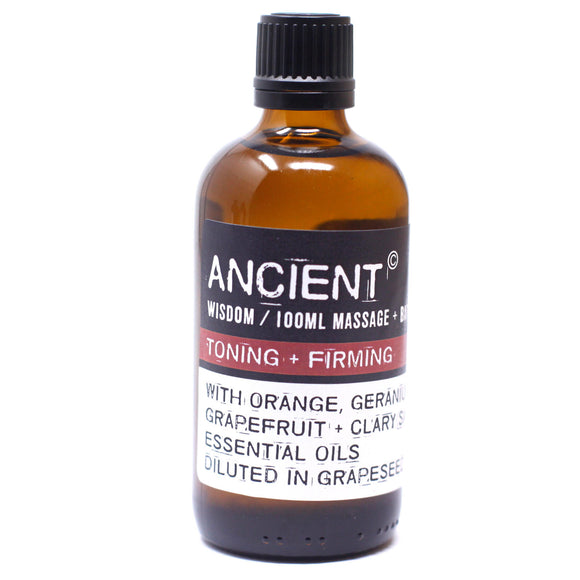 Toning & Firming 100ml Massage Oil