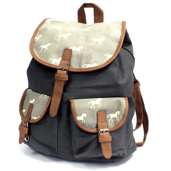 Traveller Backpacks - 2 Pocket Horses