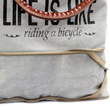 Vintage Style Bag - Bicycle-Expandable