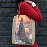 Vintage Style Travel Themed Bag - Lake District