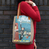 Vintage Style Travel Themed Bag - London