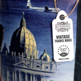 Vintage Style Travel Themed Bag - Rome