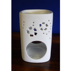 White China Oil Burner Square