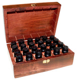 Wooden Aromatherapy Box-holds 24 x 10ml