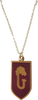 Gryffindor House Crest Necklace
