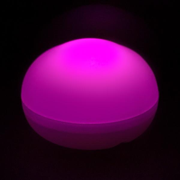 Pink LED Blimp, Available In Blinking/ Non-Blinking - Pack of 12 - IntelliWick