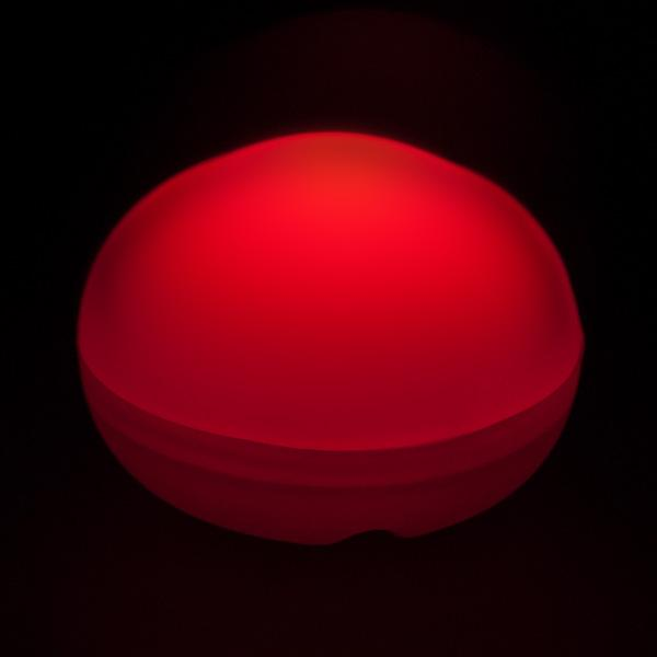 Red LED Blimp, Available In Blinking/ Non-Blinking - Pack of 12 - IntelliWick
