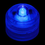 Blue Remote Controlled One LED Submersible - Pack of 10 - IntelliWick