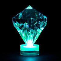 Colors Available - LED Submersible Diamond - Pack of 1 - IntelliWick