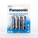 100 Piece AA Super Heavy Duty Batteries - Brand Name Battery - Broad Bargain