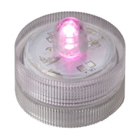 Pink One LED Submersible - Pack of 10 - IntelliWick